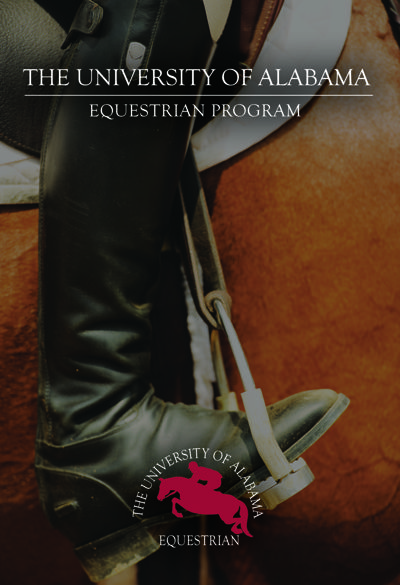 UA Equestrian Team promotional book