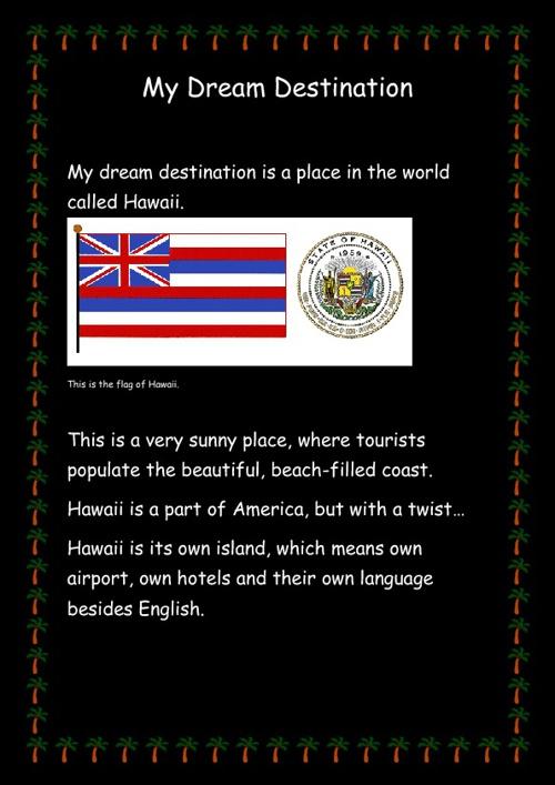 James' Dream Destination