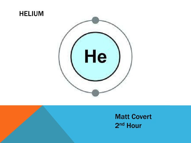 Helium Element Research Project