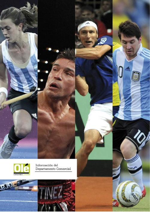 Brochure Comercial Olé