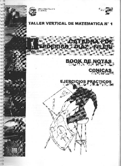 Book de Cónicas (Matemática TVN°1 FDF - Nivel 2)