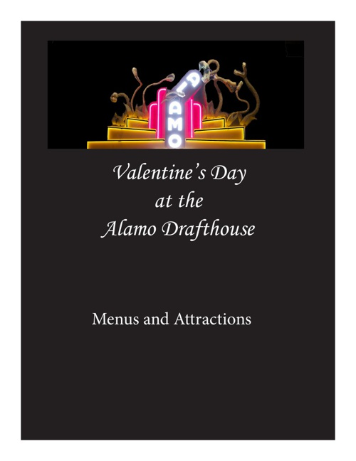 Valentine's Day at the Drafthouse