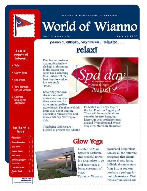 World of Wianno, Vol. 1, Issue 3