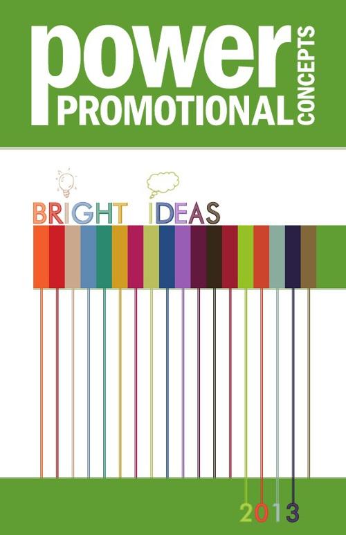 Power Promotional Concepts 2013 Idea Book