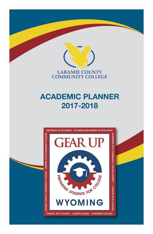 2017 2018 Academic Planner Laramie County Community College