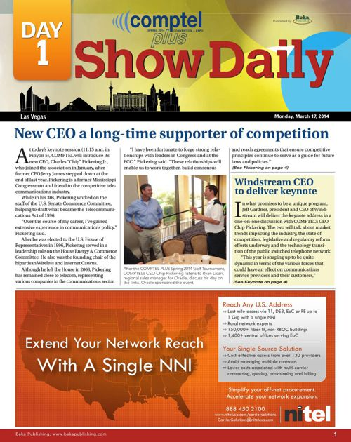 Comptel Plus (Spring 2014) - Day 1 Show Daily