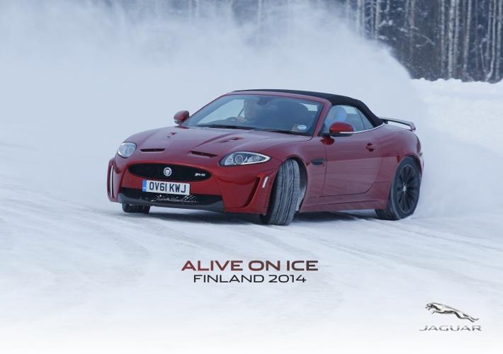 Jaguar Alive on Ice Finland 2014