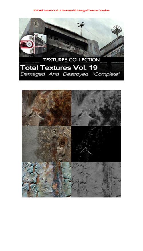 3D Total Textures vol.19