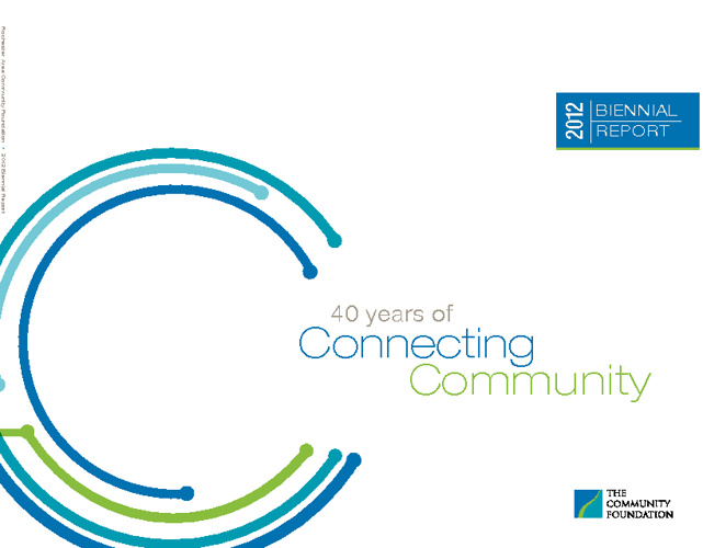 Rochester Area Community Foundation 2012 Biennial Report
