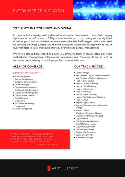 Argyll Scott - APAC e-Commerce & Digital