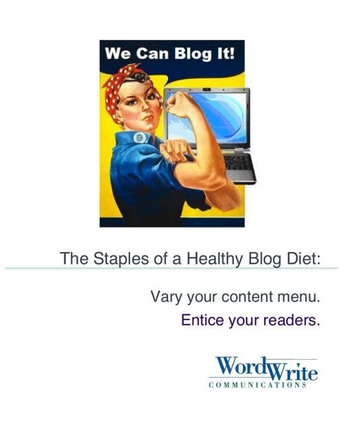 het blog dieetplan