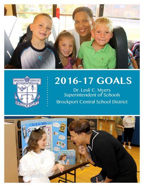 2016-17 BCSD Superintendent Goals