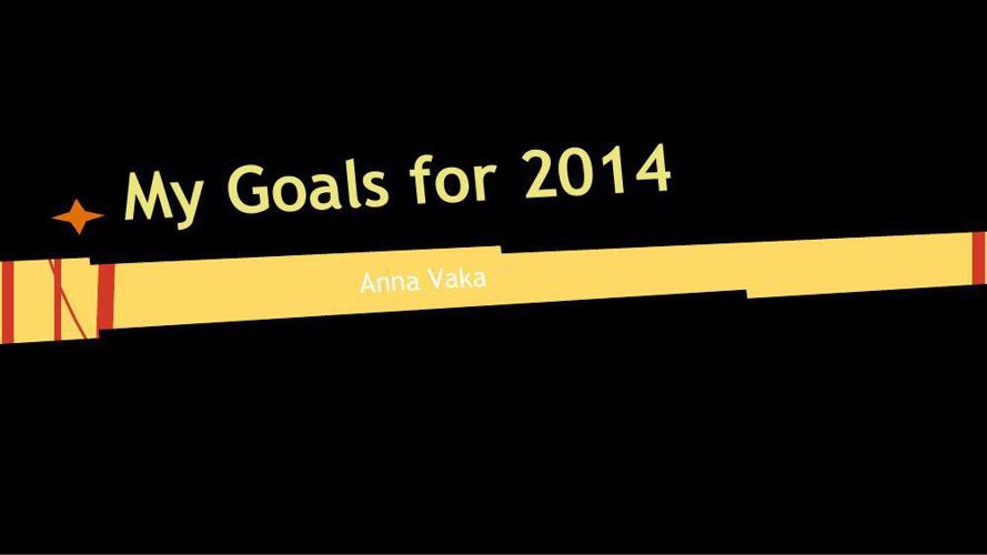 Anna My Goals