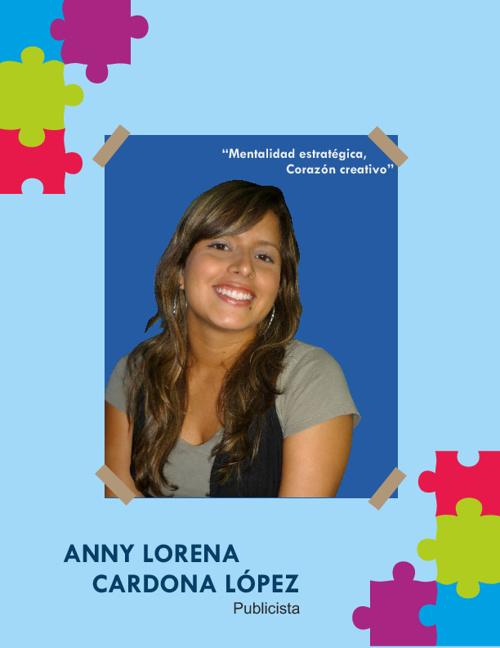 Anny Lorena Cardona Hoja De Vida