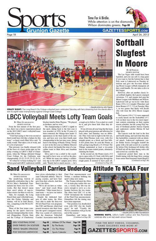 Gazette Sports | April 26, 2012