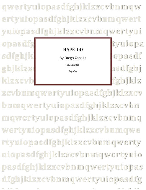 HAPKIDO1