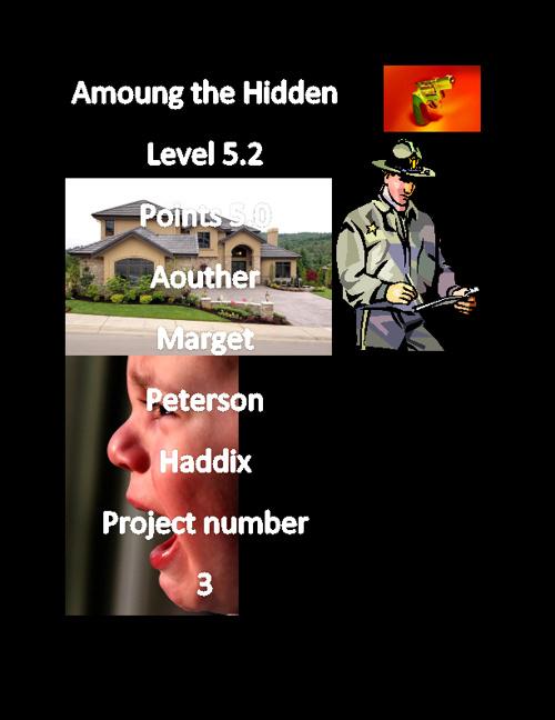Among of the hidden