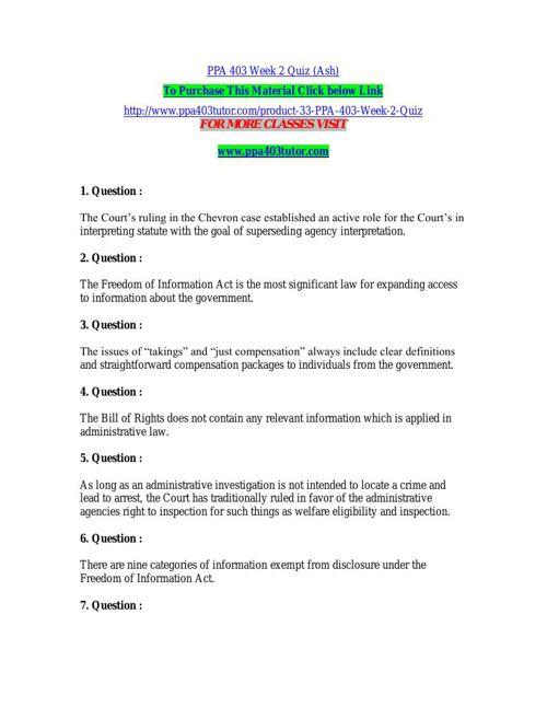 PPA 403 Week 2 Quiz (Ash)