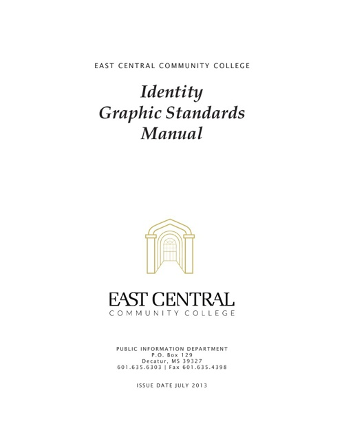 ECCC Graphics Standards Manual