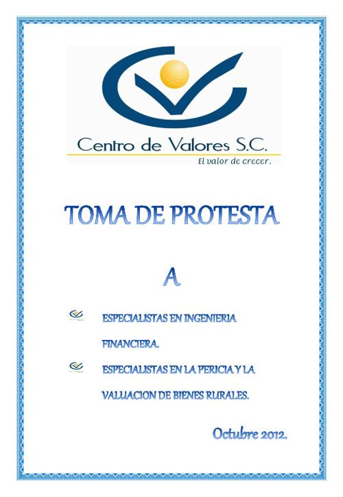 Invitación de Especialistas 2012