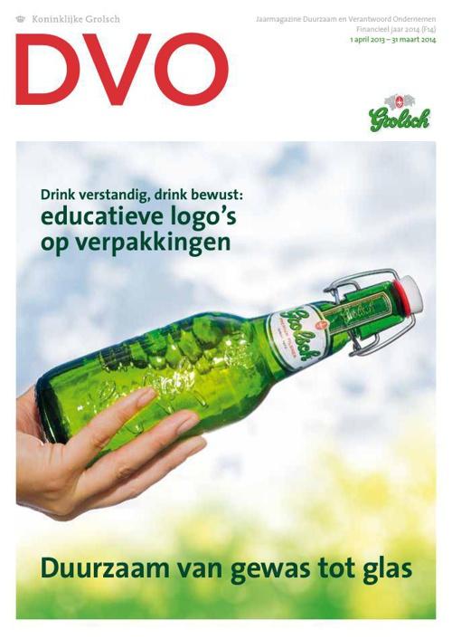 Grolsch Jaarmagazine DVO 2014