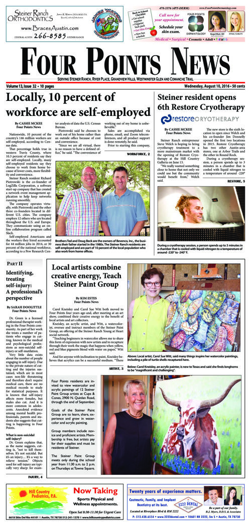 Four Points News August 10 2016