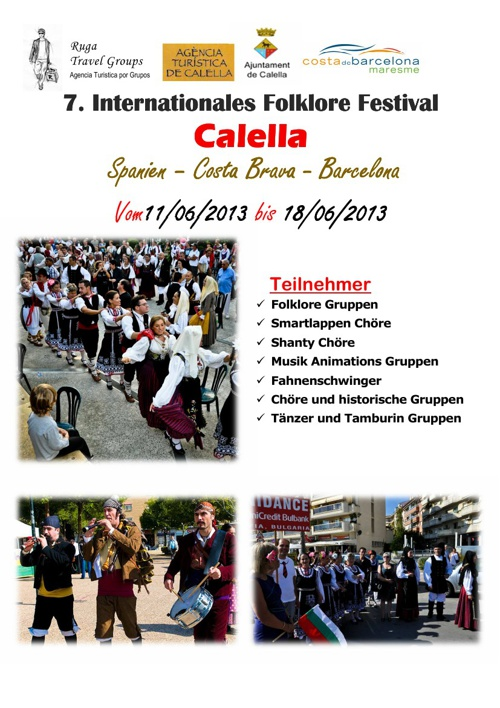 7. Internationales Folk Festival Calella