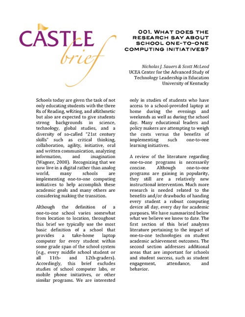 Castle Brief