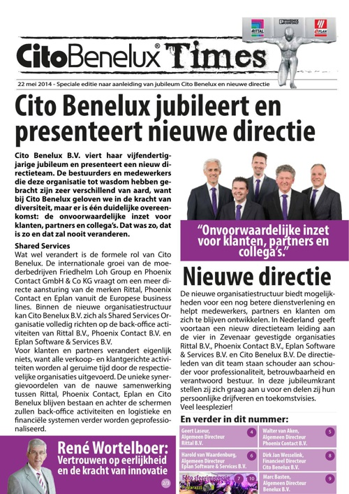 Cito Benelux Times