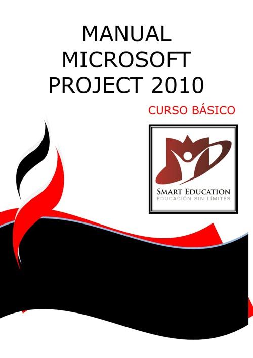 CURSO MICROSOFT PROJECT 2010 BASICO CON PORTADA