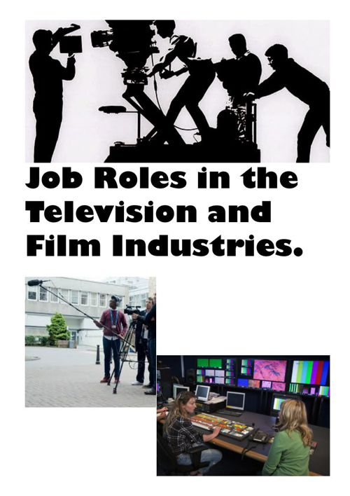Job roles in the tv and film industry new