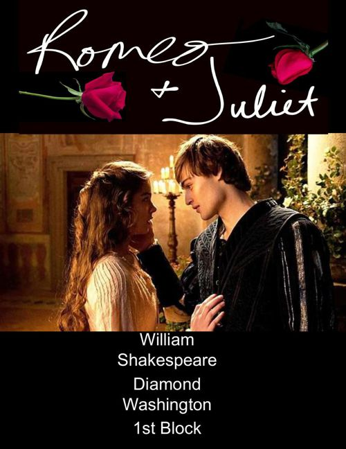 Romeo and Juliet Scrapbook (1)
