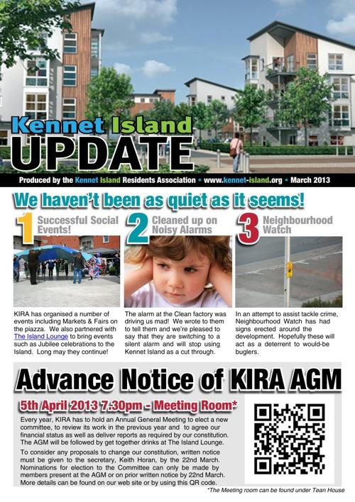 KIRA Newsletter March 2013