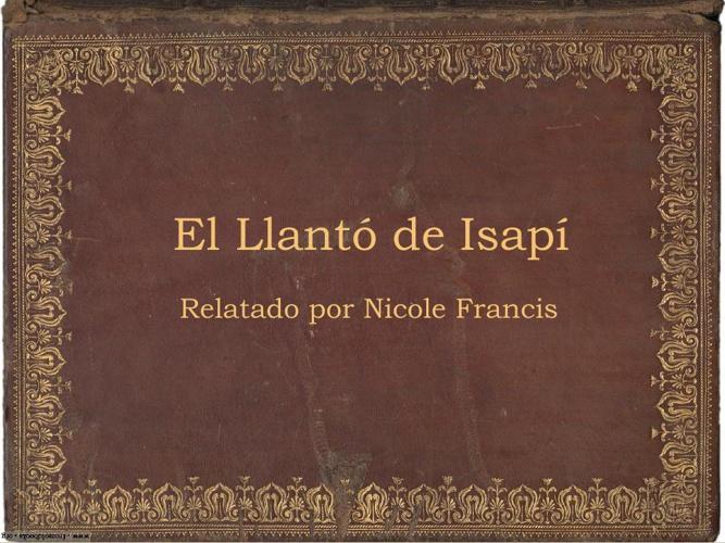 El Llanto de Isapí