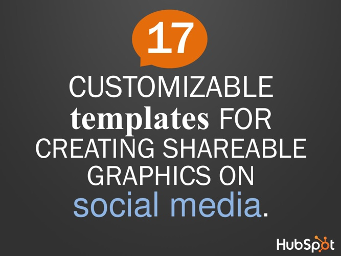Customizeable Shareable Graphics on Social Media