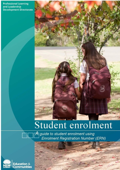 A guide to student enrolment using ERN