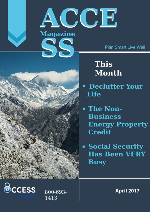 Access Magazine April