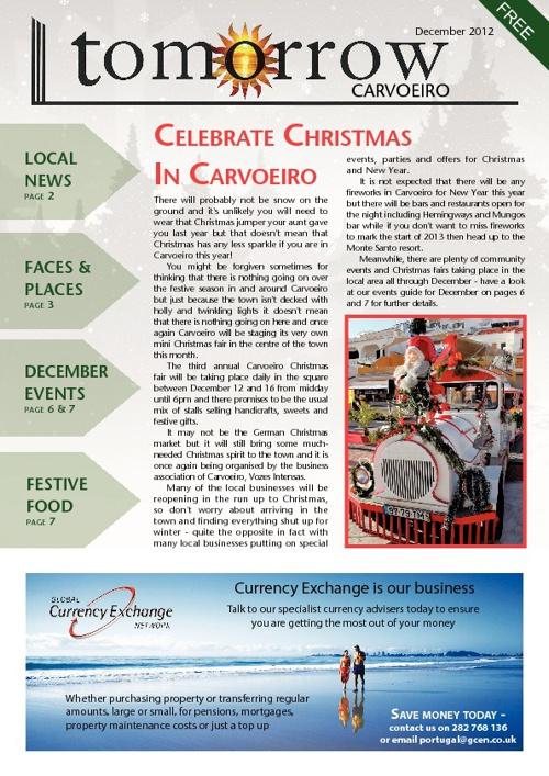 Tomorrow Carvoeiro, December 2012