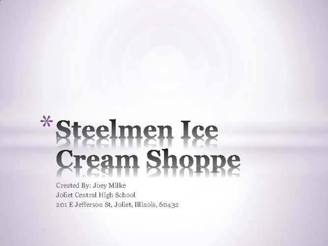 steelmen shoppe