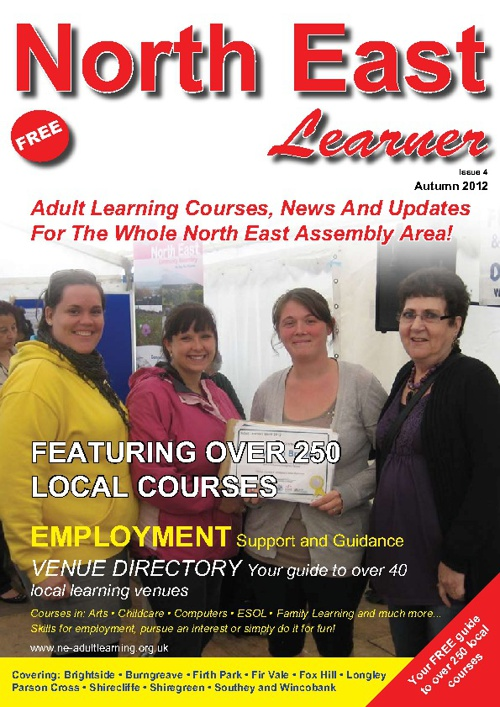 North East Learner Autumn 2012