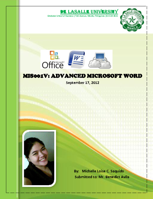 MS WORD-Validating Exam