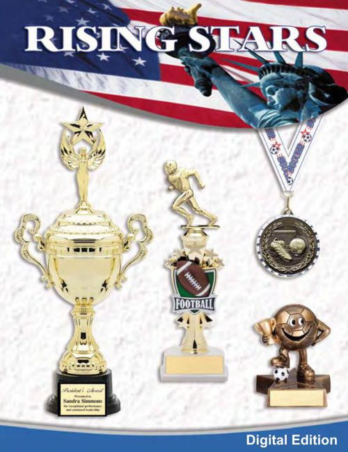 Rising Stars Trophy Medals