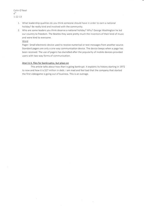 Current Events- Business Essentials & Computer Applications