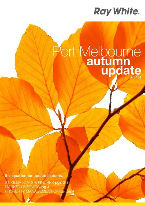 Port Melbourne Autumn Update