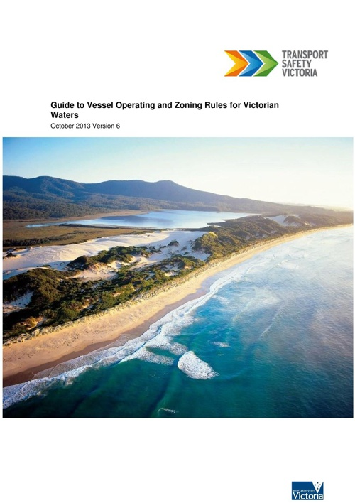 Guide to vessel operating and zoning rules for Victorian Waters