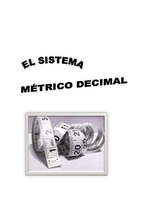 Análisis matématico cognitivo del Sistema Métrico Decimal (SMD)