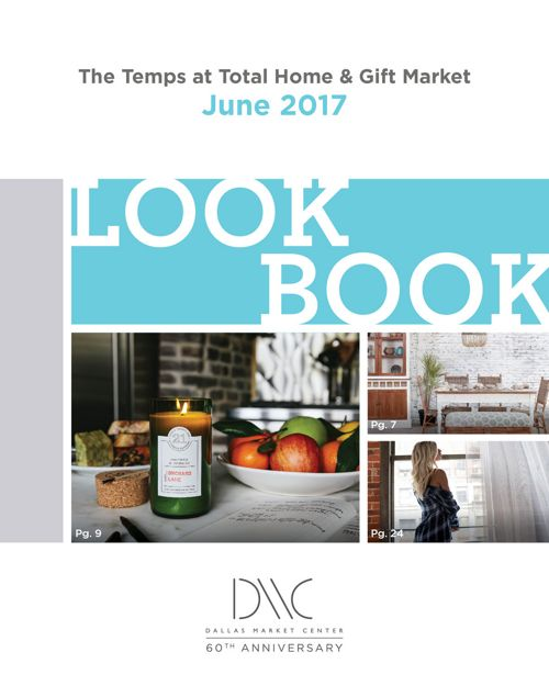 The Temps at Total Home & Gift Market: June 2017 Lookbook