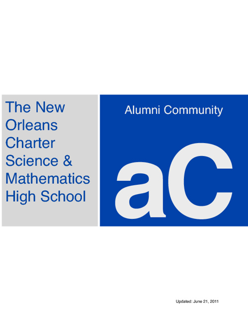 Alumni Community Outline
