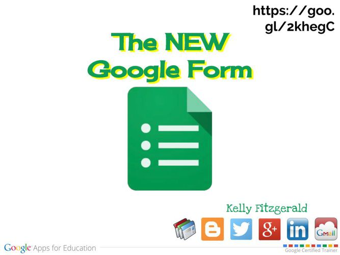 NEW Google Forms Look