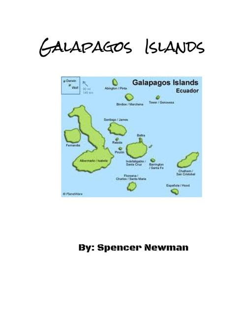Spencer Newmans, Galapagos Islands eBook